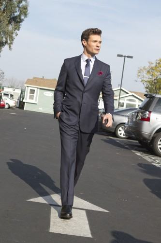 Ryan Seacrest's signature style has always included suits. Photo: Sadao Turner/Ryan Seacrest Productions