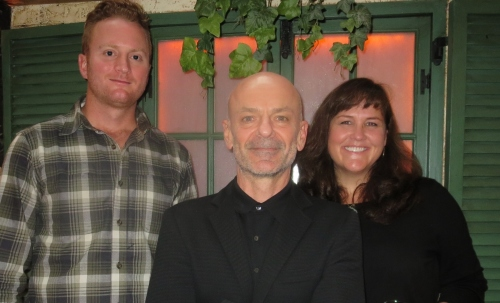 37.5's Wes Burgess, Scott Branscum and Christy Raedeke at a press event this week