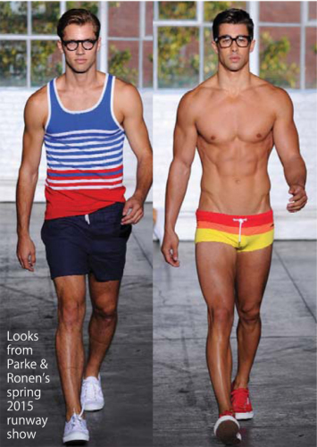 Parke and Ronen spring 2015 runway