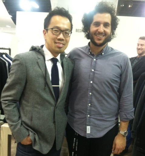 Simon Chan from Mario's with Bespoken's Liam Fayed