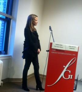 Moderator Anne Bridges, Bloomingdale's