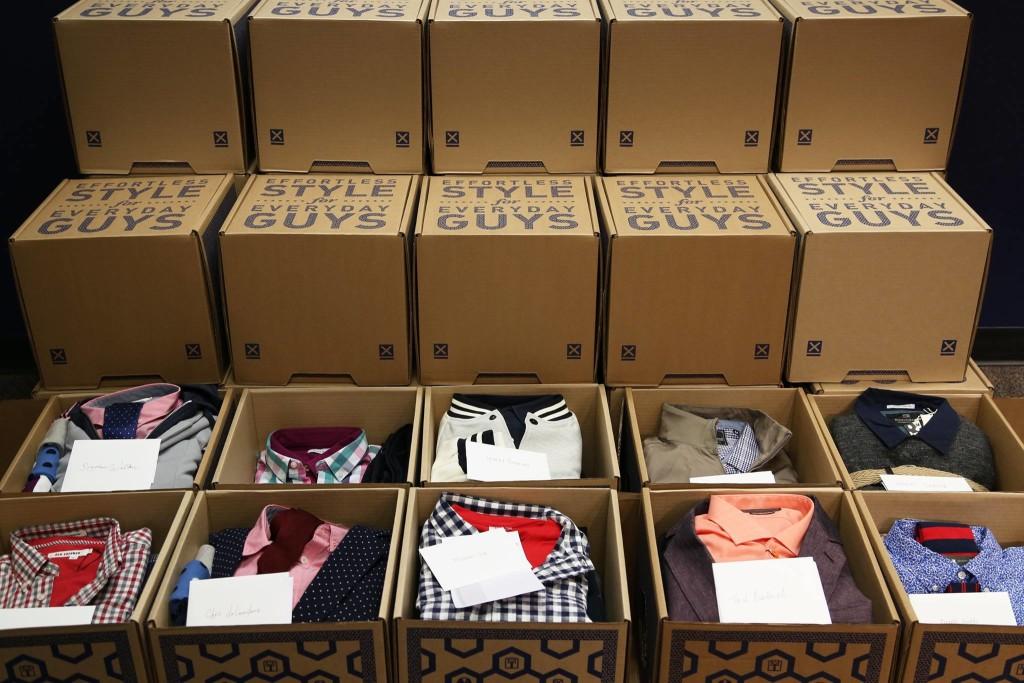 Men's Style Lab boxes