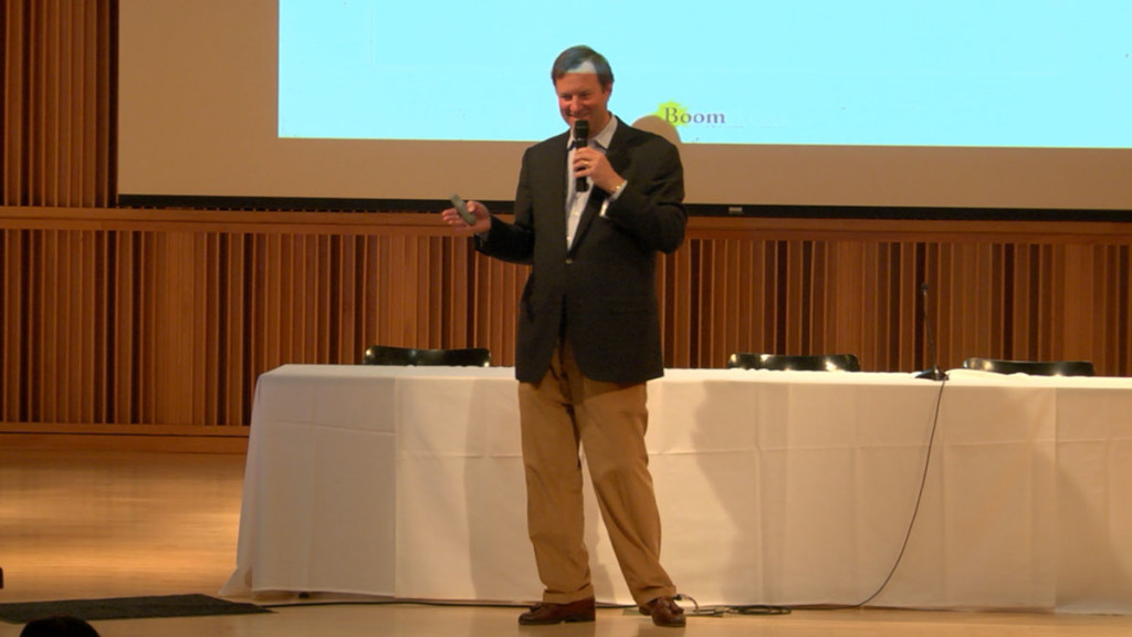 Peter Hubbell at the Arts and Initiative conference in NYC