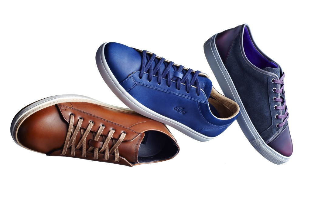 From left to right: To Boot New York, Lacoste, Noah Waxman