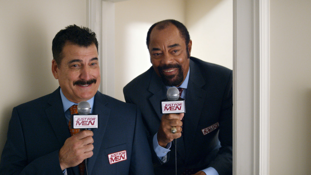 "Former MLB star Keith Hernandez and former NBA star Walt ""Clyde"" Frazier."