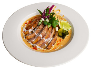 Khao Soi (duck) at Lotus of Siam