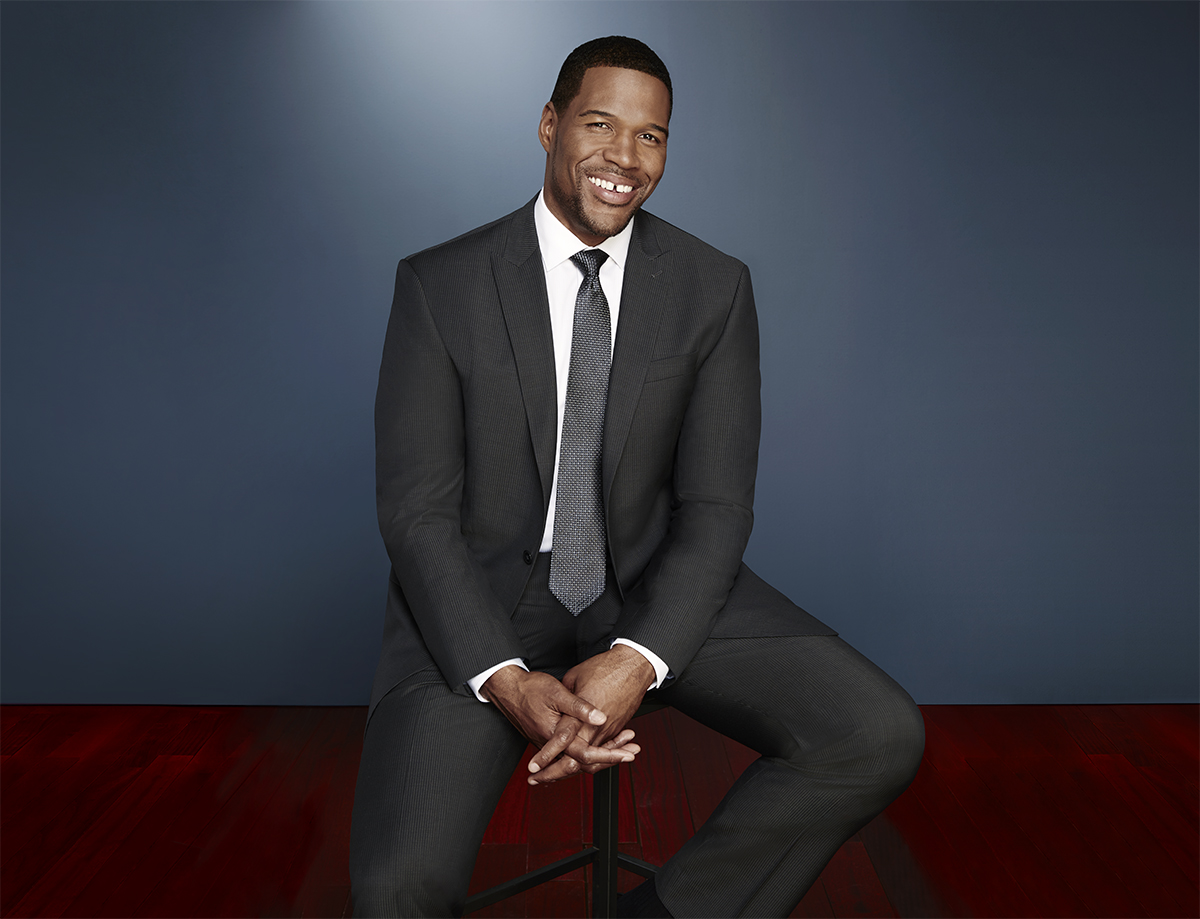 Jcpenney Launches Michael Strahan Collection Mr Magazine