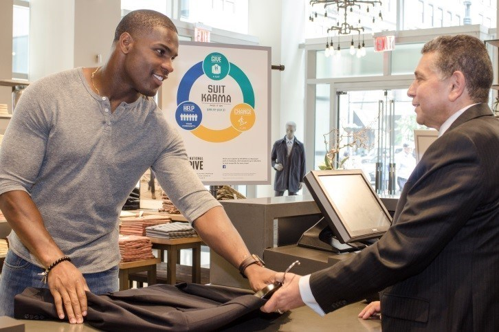 Men's Wearhouse National Suit Drive (PRNewsFoto/Men's Wearhouse)
