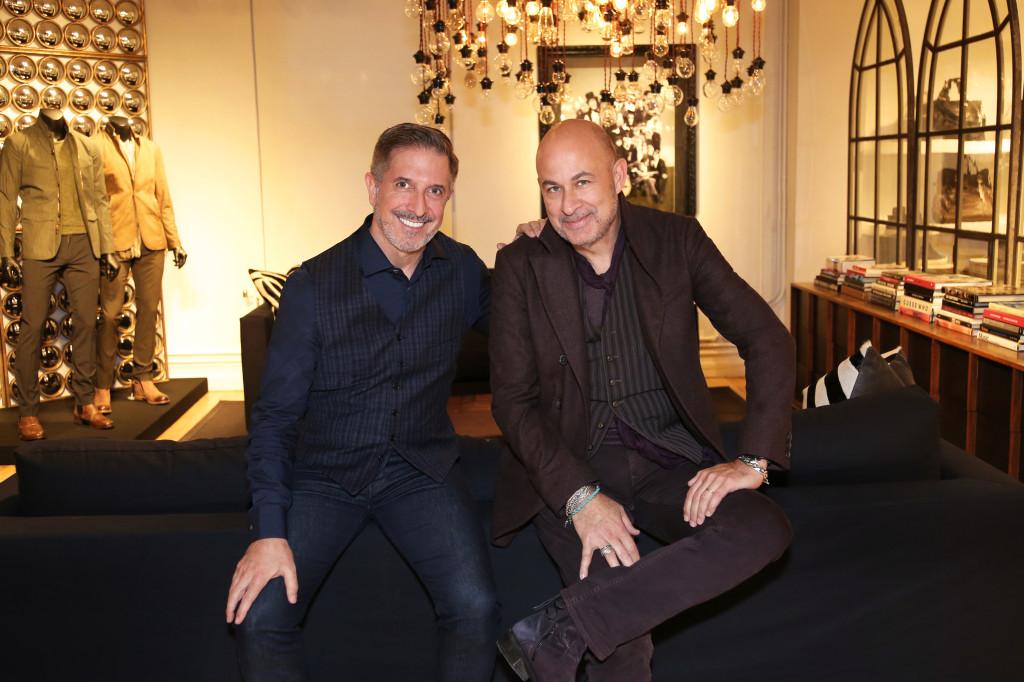 Mark Brashear and John Varvatos