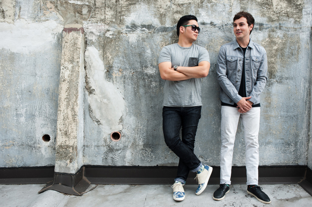 Ricky Choi and Phil Moldavski