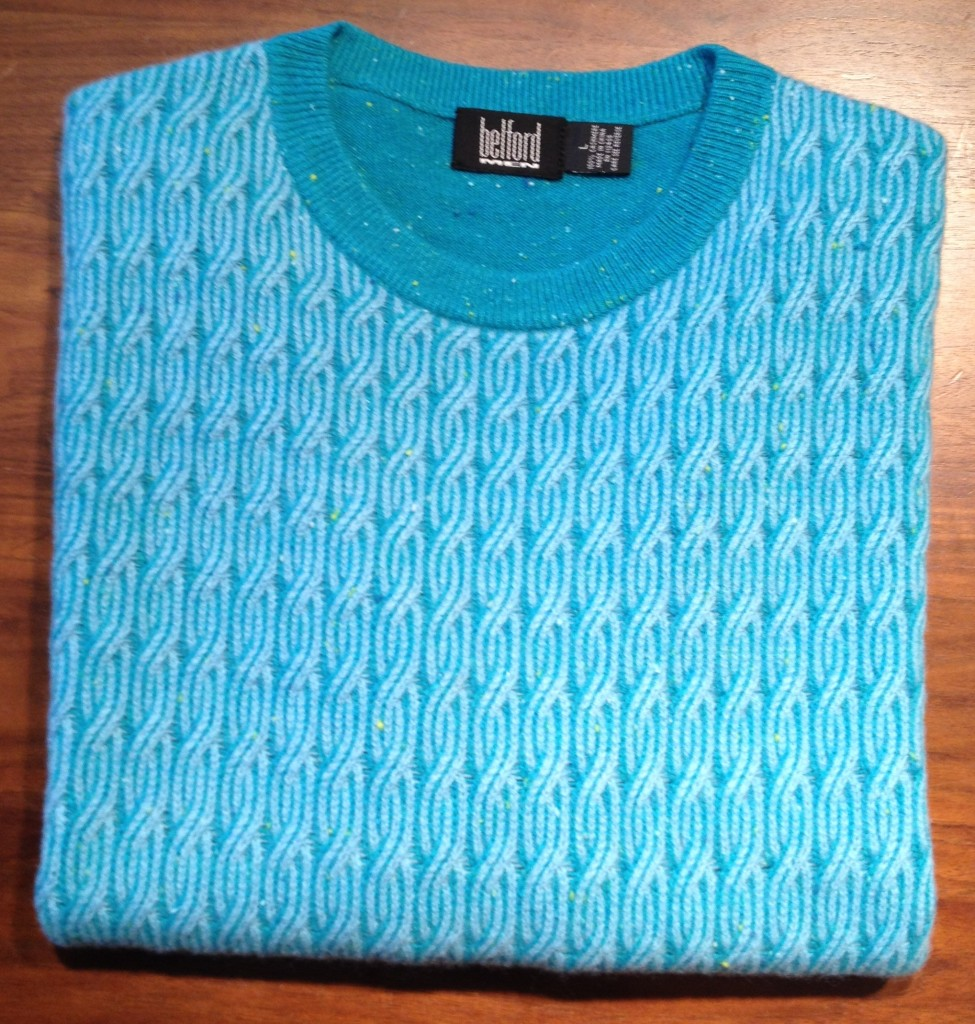 Belford Men Style 9106 Color Turquoise Ocean