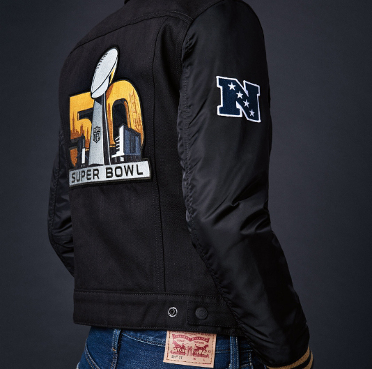 Levi Strauss - Super Bowl 50 Collection