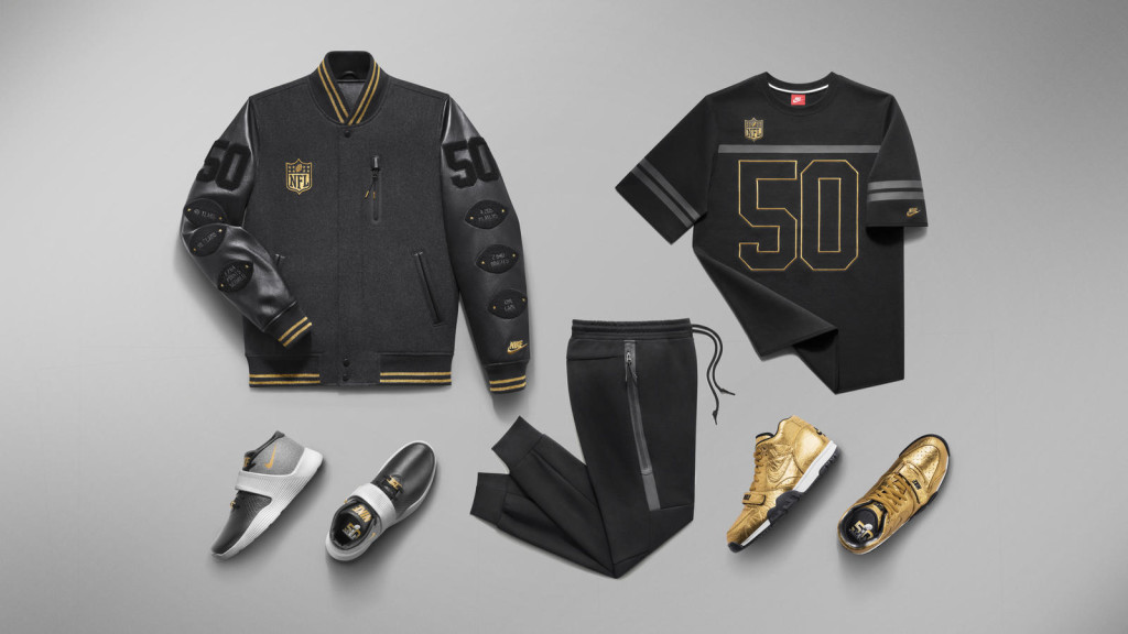 uk availability b8bc2 773d5 NIKE LAUNCHES TWO SUPER BOWL 50 COLLECTIONS - MR Magazine