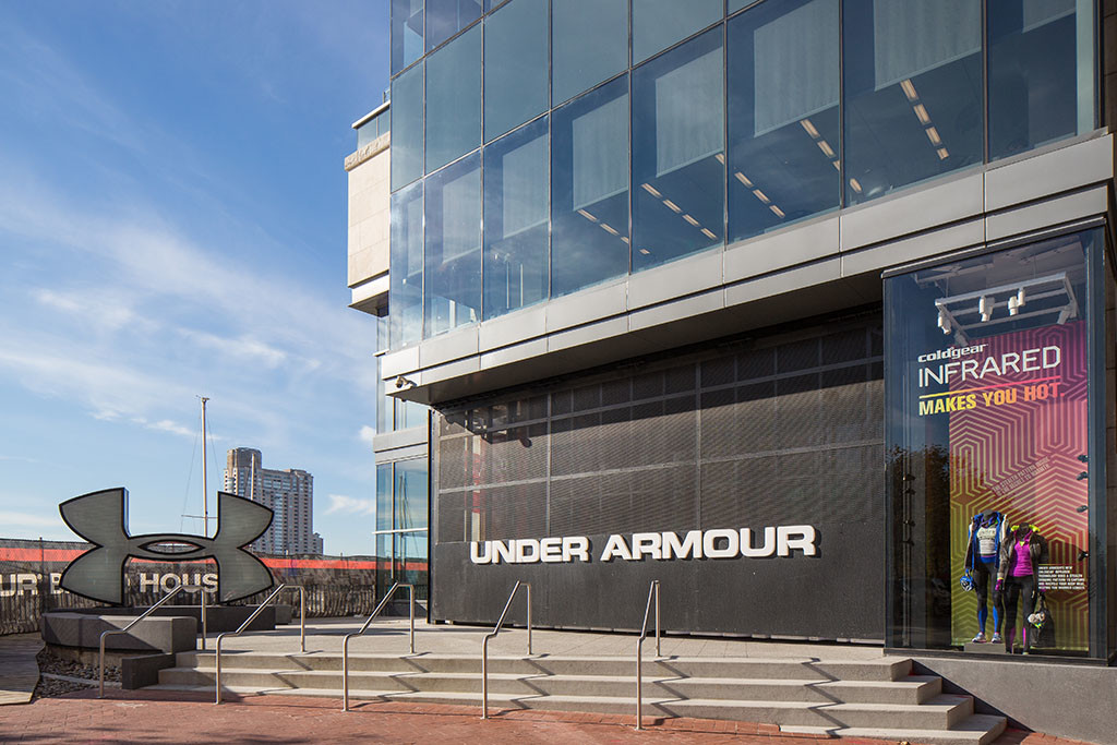 sports authority under armour