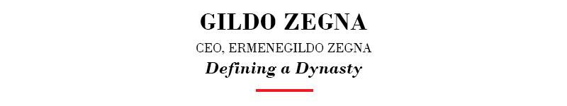 Gildo-Zegna