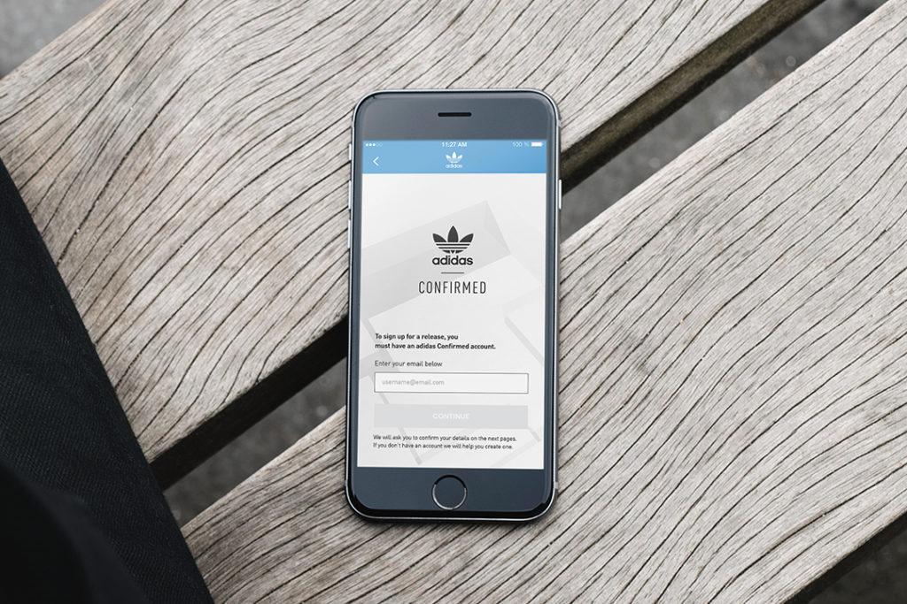 Adidas confermato app fa riprogettare e miglioramenti