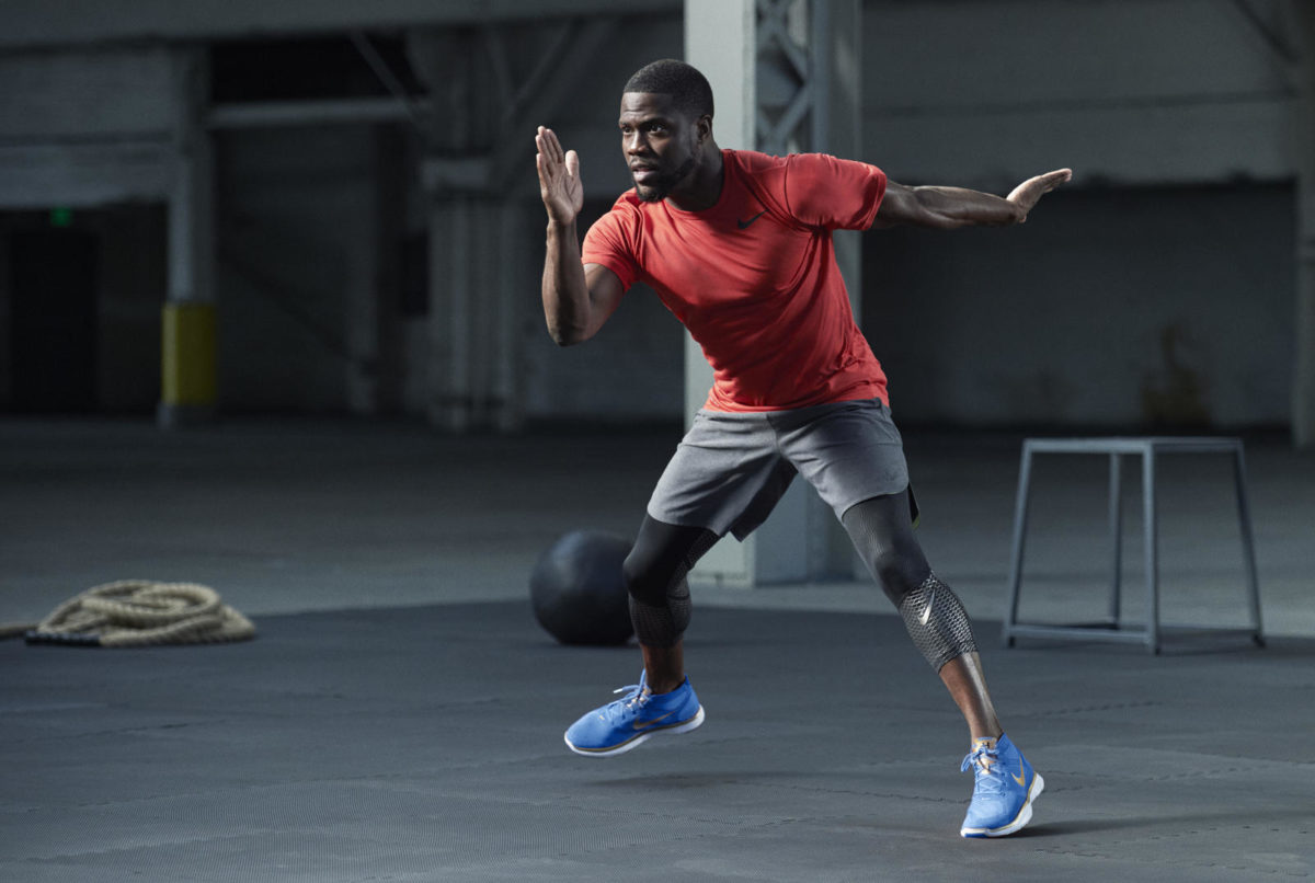 KEVIN HART AND NIKE COLLABORATE ON NEW TRAINING SHOE 5b90cdf78