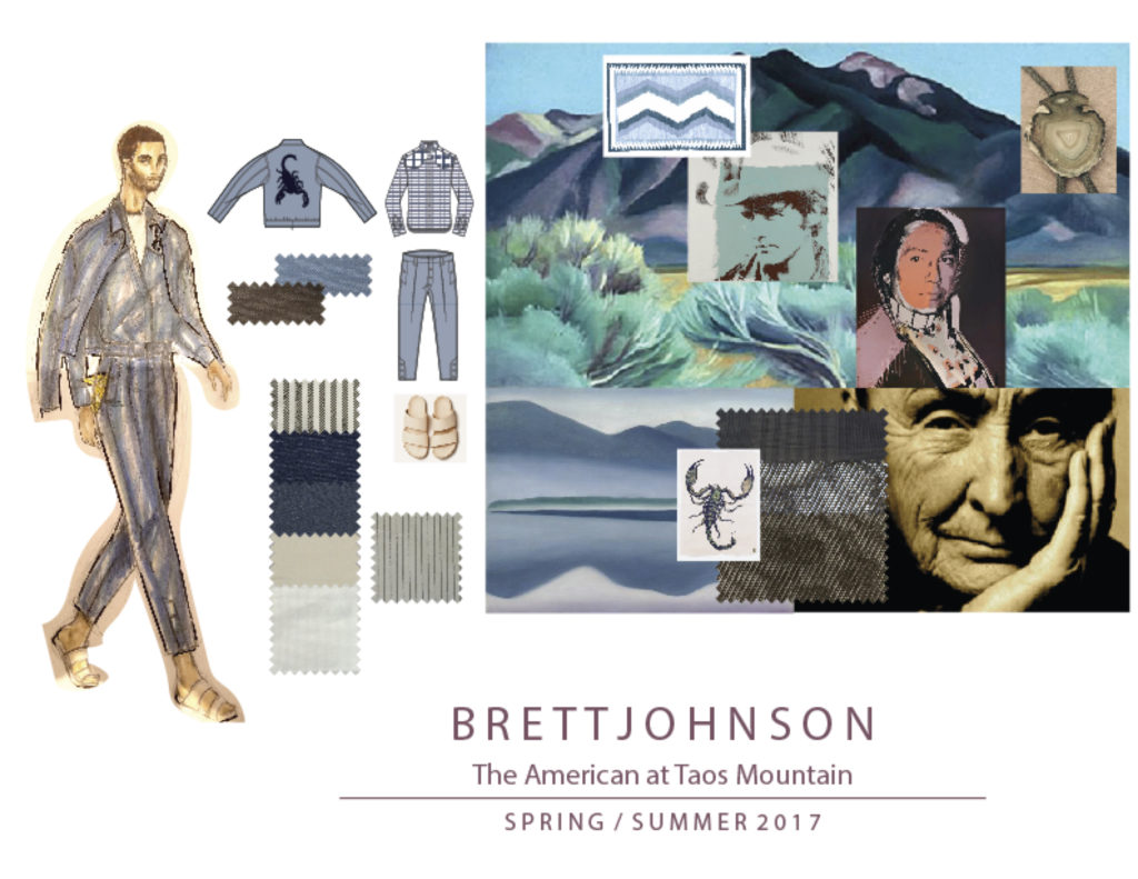BRETT JOHNSON SS17 MOOD BOARD 2