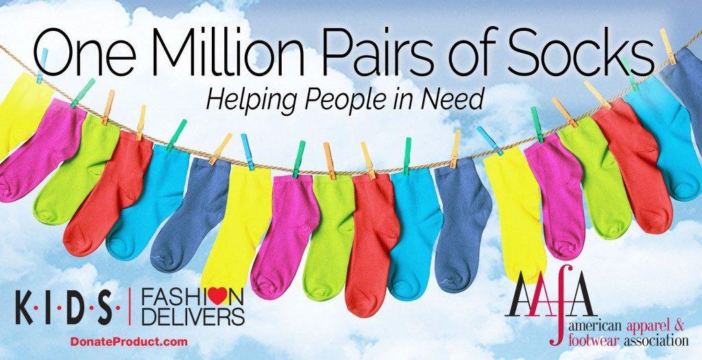 one million socks aafa