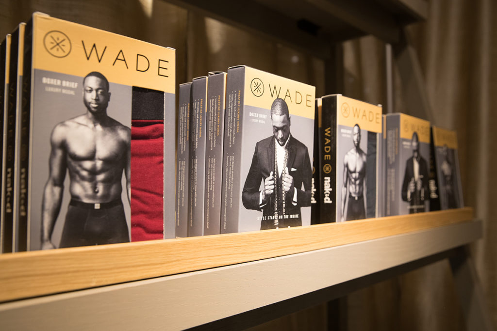Dwayne Wade x Naked Collection