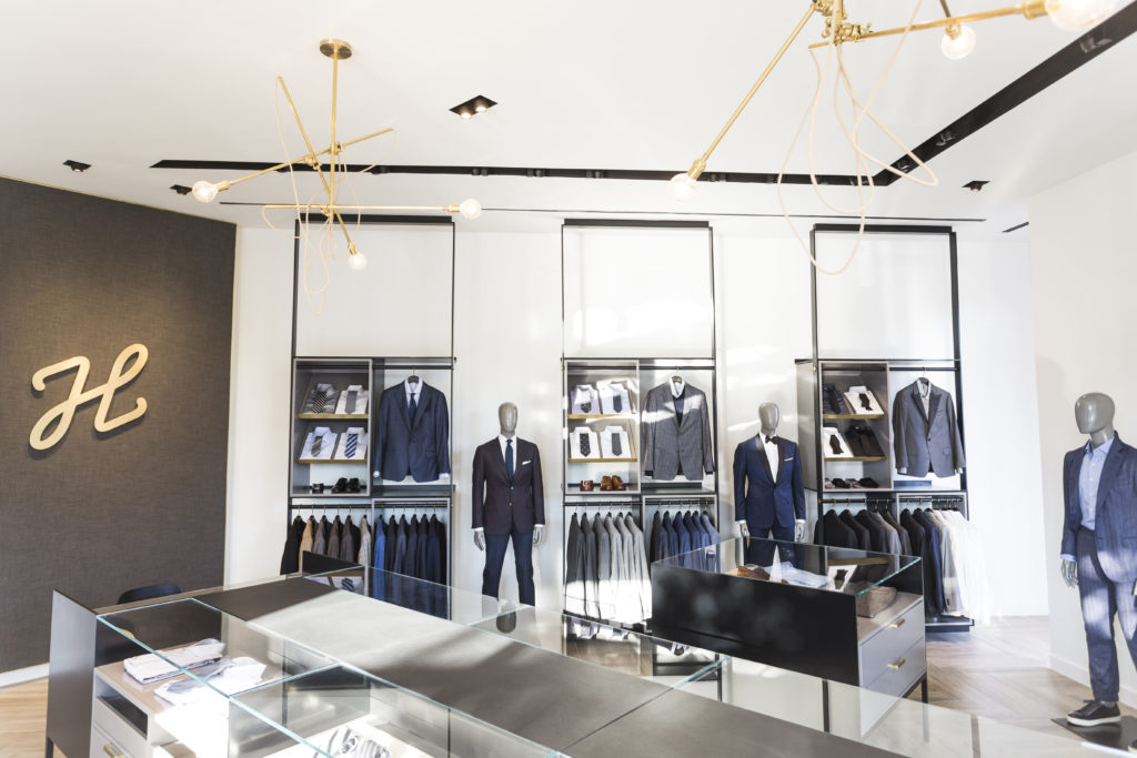 J.HILBURN TO OPEN FIRST STORE IN DALLAS LATER THIS MONTH