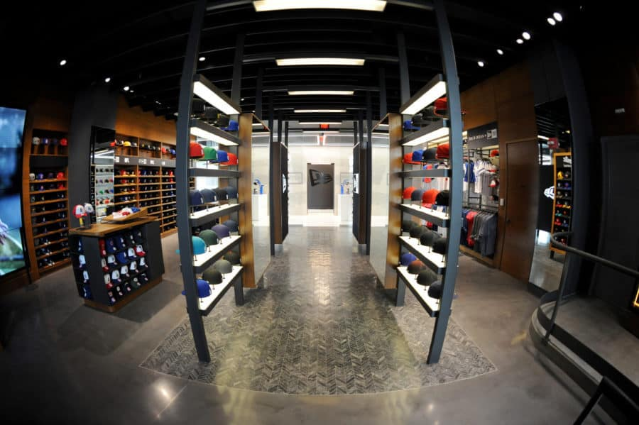 NEW ERA OPENS DESIGN LAB SHOP AT LA S STAPLES CENTER 8b87da437ee