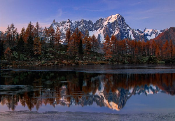 Autumn at Arpy Lake - Aosta Valley, Italy