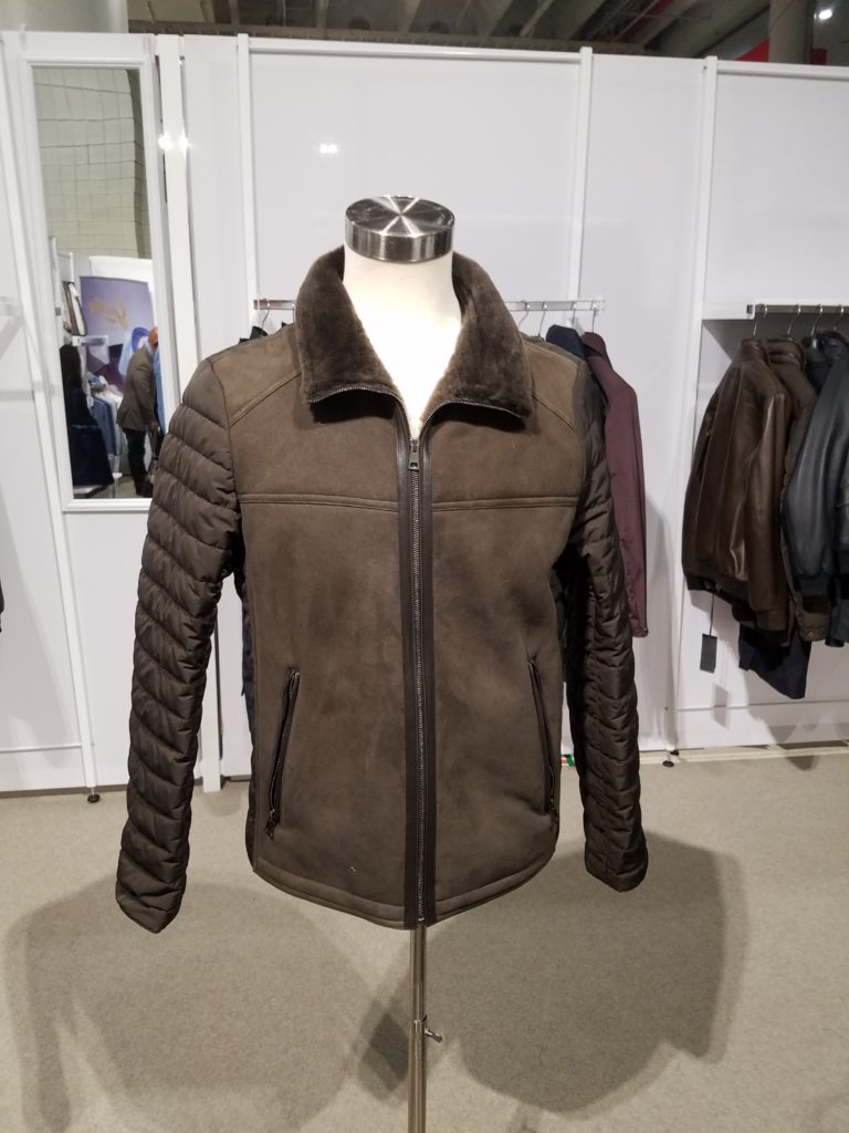 Leather Coat by Galotti