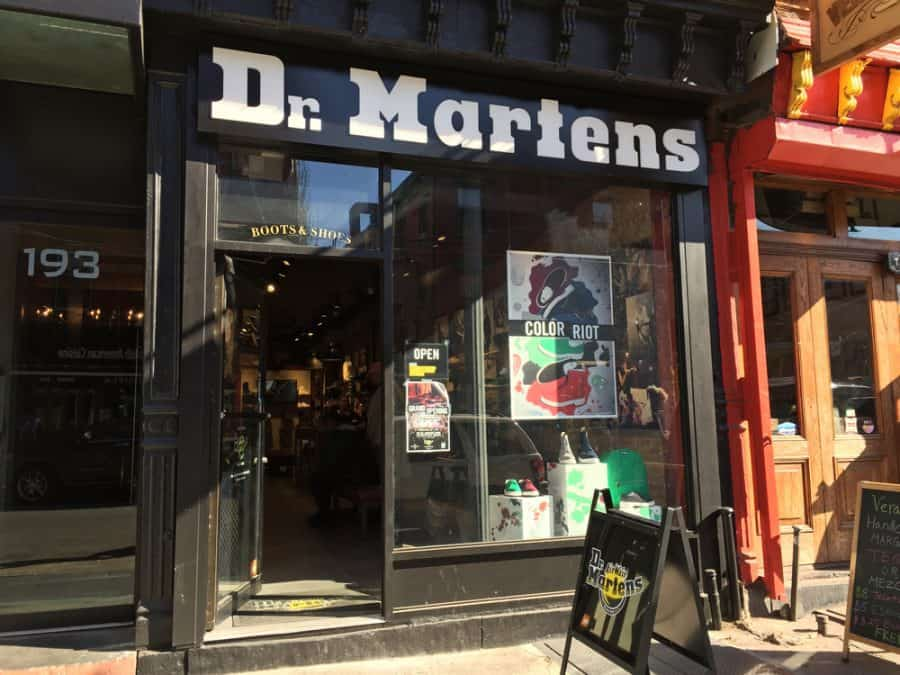 Dr Martens To Open In New York City S Herald Square