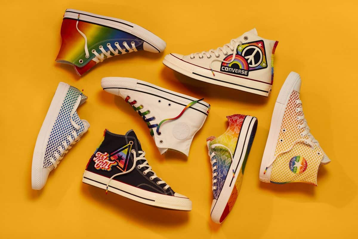 "15d90c00411a CONVERSE SAYS ""YES TO ALL"" WITH NEW PRIDE COLLECTION"