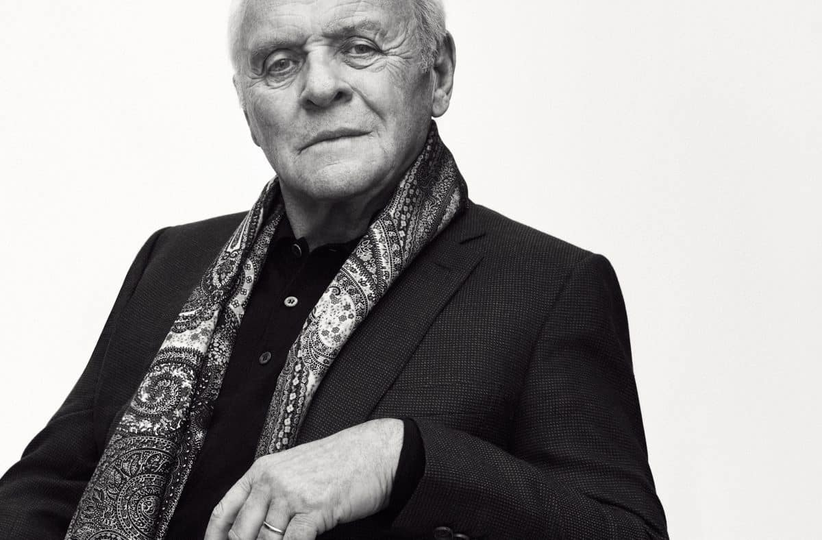 BRIONI TAPS SIR ANTHONY HOPKINS TO FRONT FALL AD CAMPAIGN