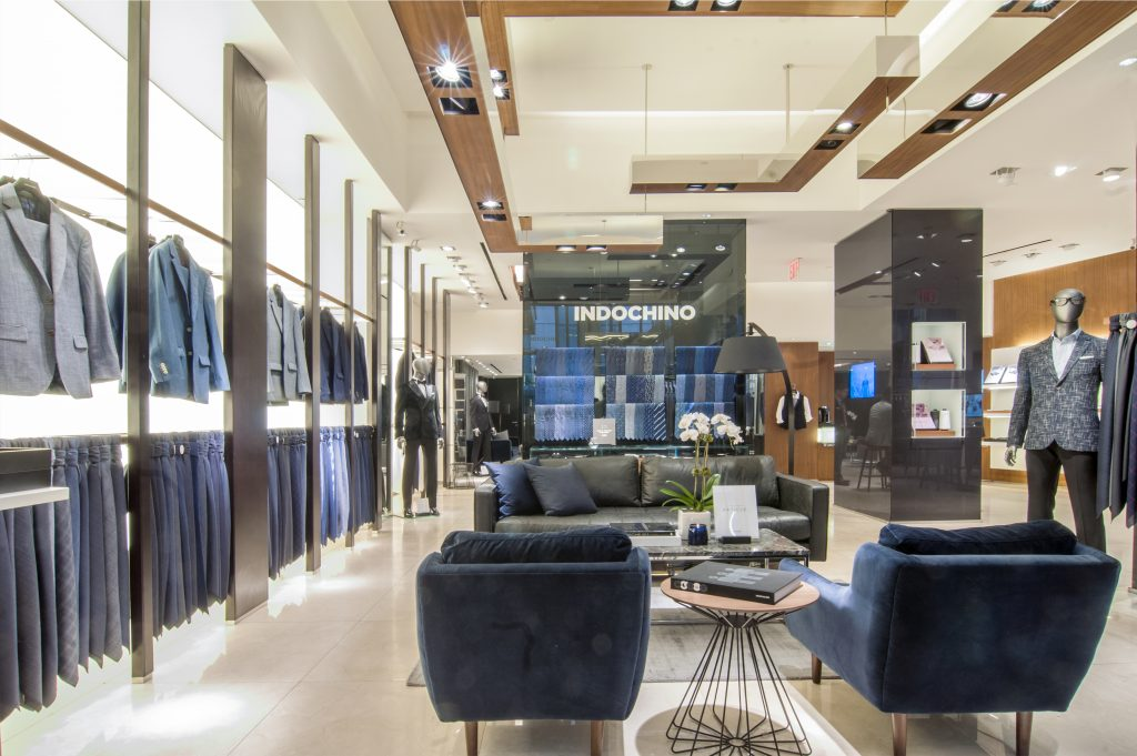 Indochino Financial District Showroom - Photo Credit Lily Wokin