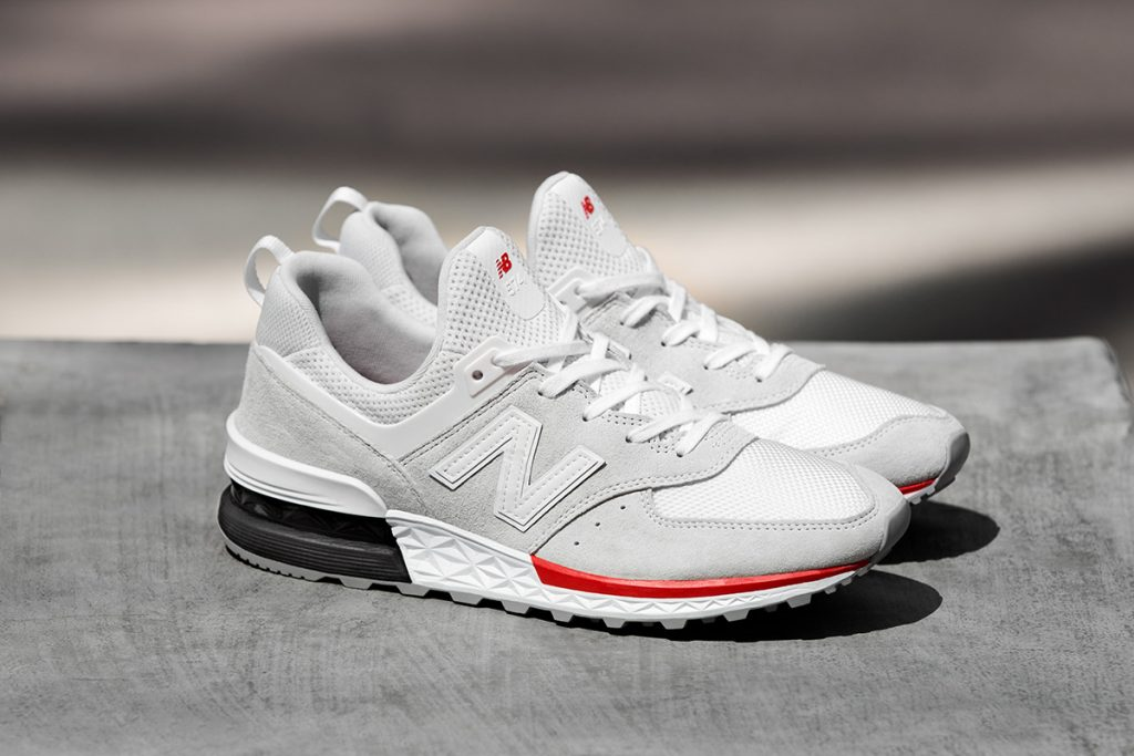 """9edc6cd95164f """"The 574 Sport marks the next chapter in our sports-style category"""" said  Shinichi Kubota, VP of Lifestyle and Enduring Purpose at New Balance."""