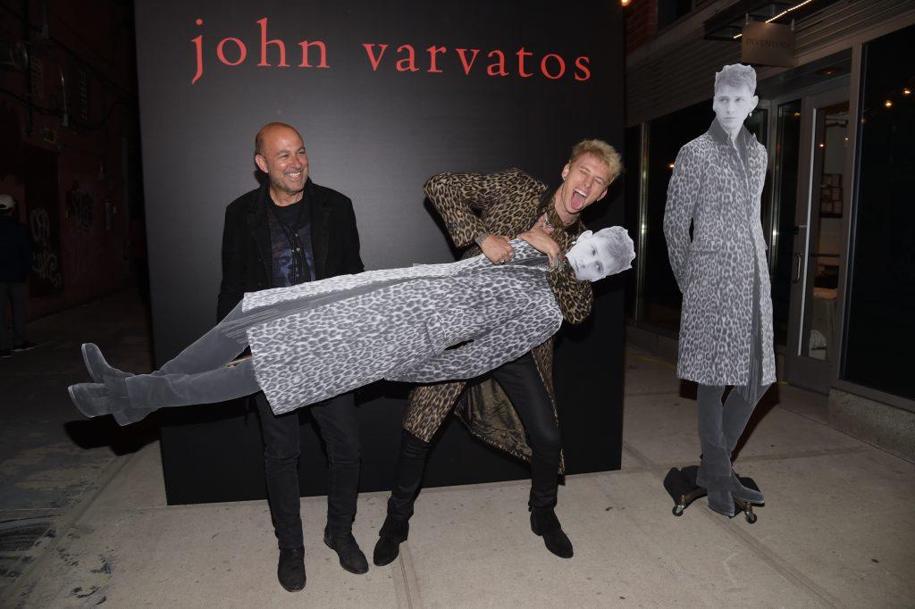 John Varvatos Machine Gun Kelly