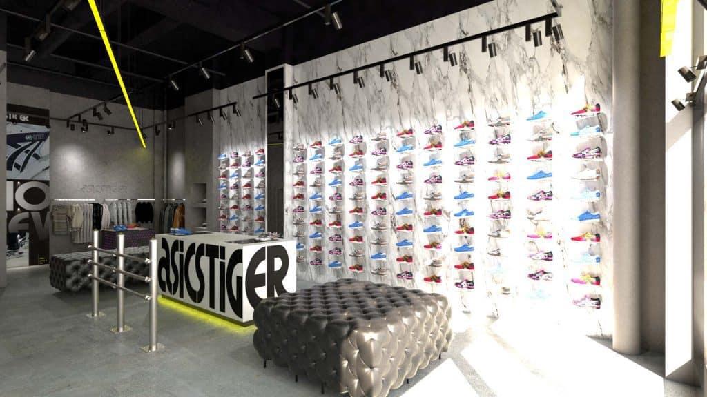 asics new york shop