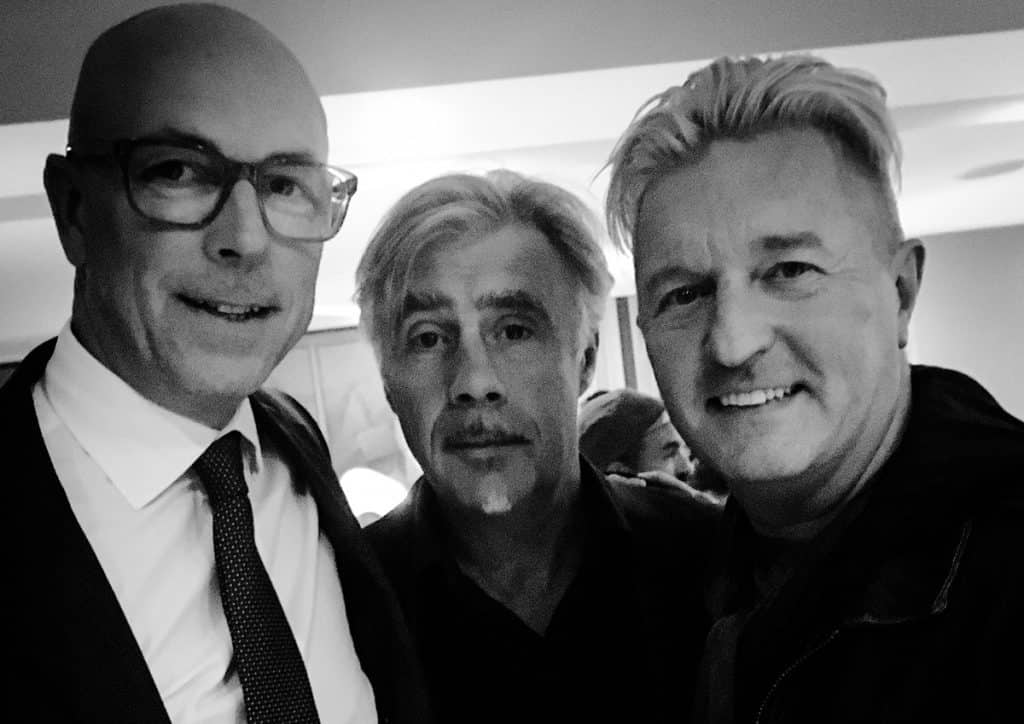 Dylan Jones Glen Matlock Keanan Duffty