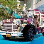 LOUIS VUITTON UNVEILS CUSTOM MOKE ELECTRIC CAR AT NYC POP-UP