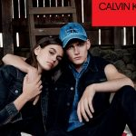 SIBLINGS KAIA AND PRESLEY GERBER FRONT NEW CALVIN KLEIN JEANS CAMPAIGN