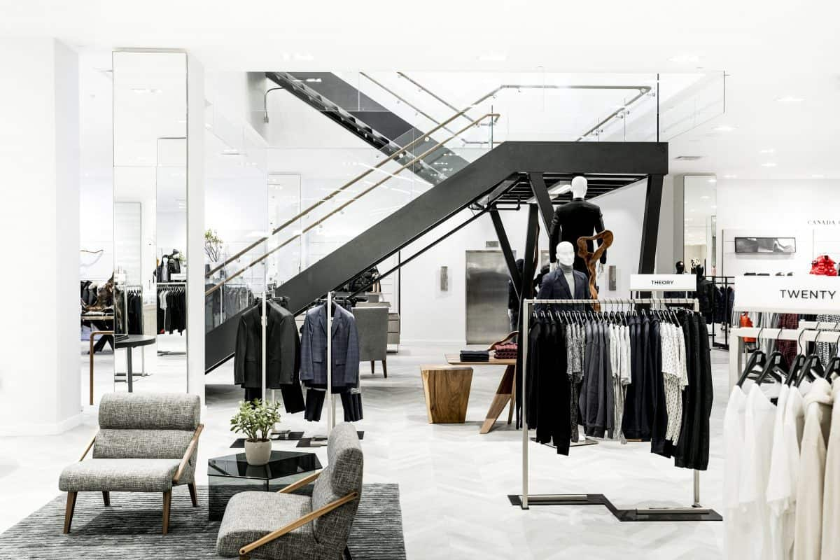 SAKS FIFTH AVENUE OPENS THIRD STORE IN CANADA