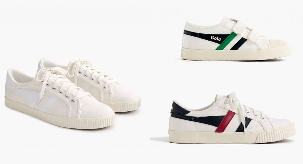 Gola for J.Crew Collection