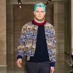 PERRY ELLIS LOOKS TO POINTILLISM FOR FALL 2018