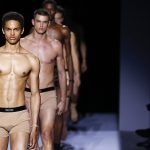 TOM FORD DEBUTS UNDERWEAR, WATCH AT FIRST-EVER MEN'S RUNWAY SHOW