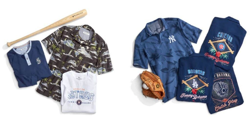 Tommy Bahama 2018 MLB Collection