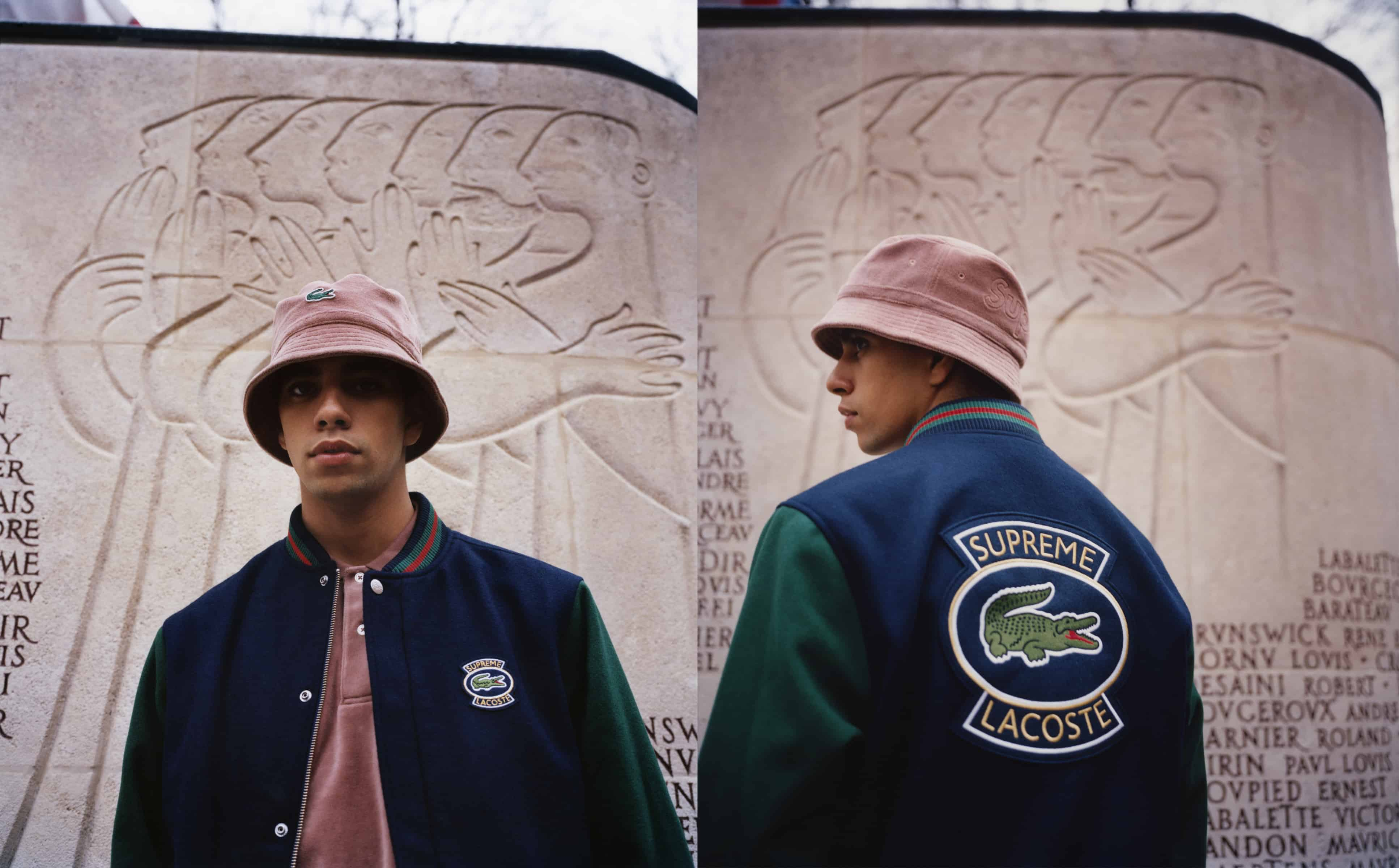 LACOSTE TO DROP SECOND COLLAB WITH SUPREME a0a240d2f3db
