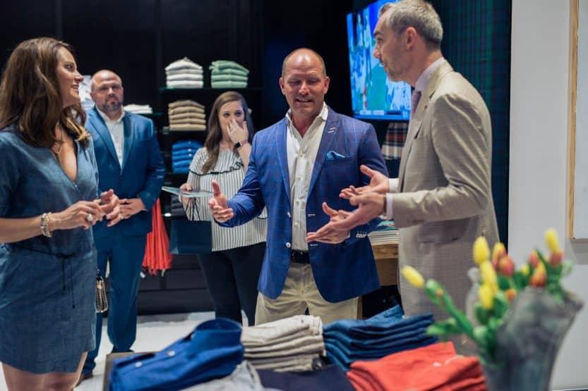 Hubbard Clothing Opening