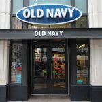 GAP SHARES FALL AS OLD NAVY'S GROWTH SLOWS DOWN