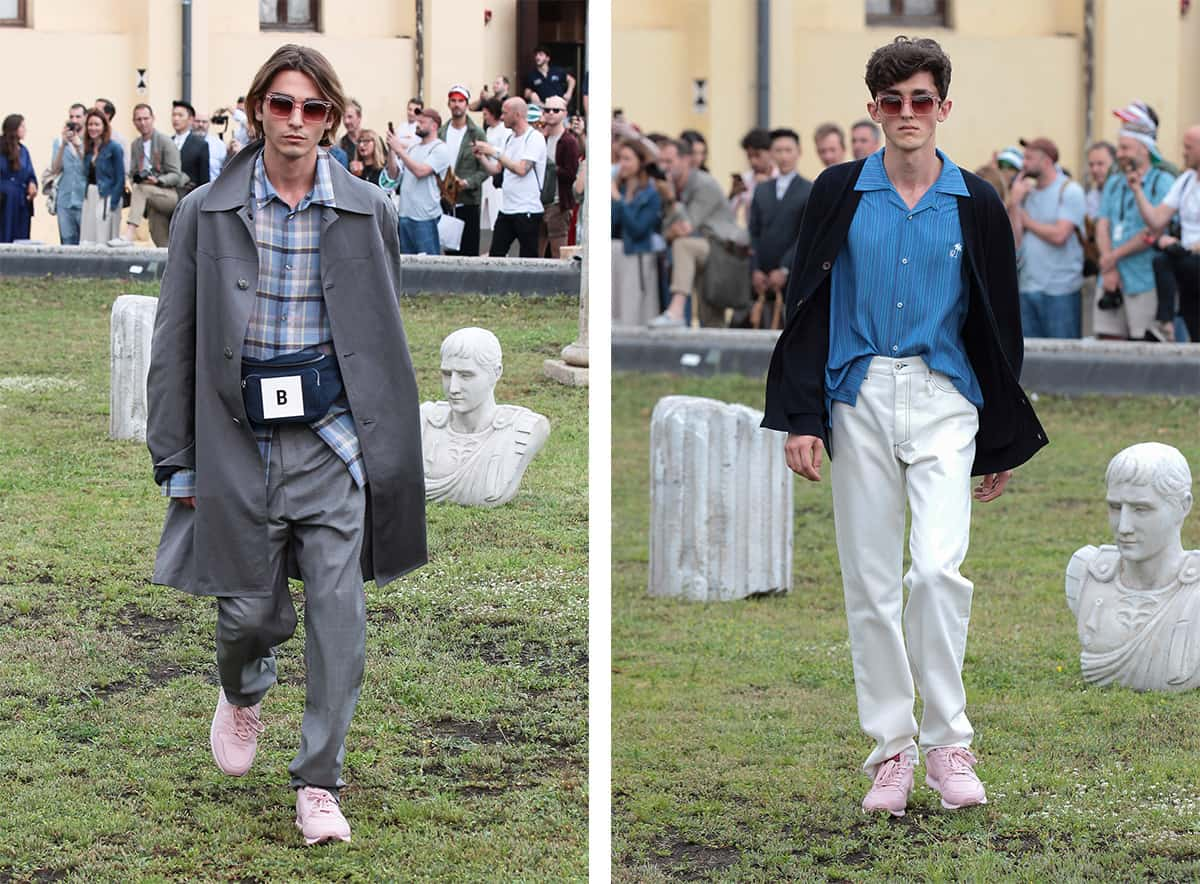 Band Of Outsiders Puts On Show In The Middle Of Pitti Uomo Band of Outsiders