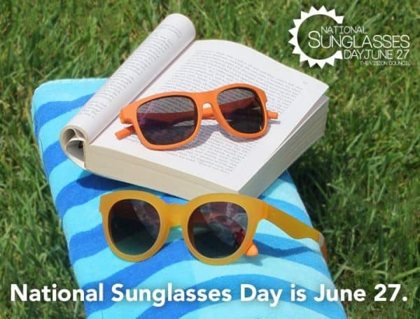 d9b4d4d985 IT S TIME TO CELEBRATE NATIONAL SUNGLASSES DAY - MR Magazine