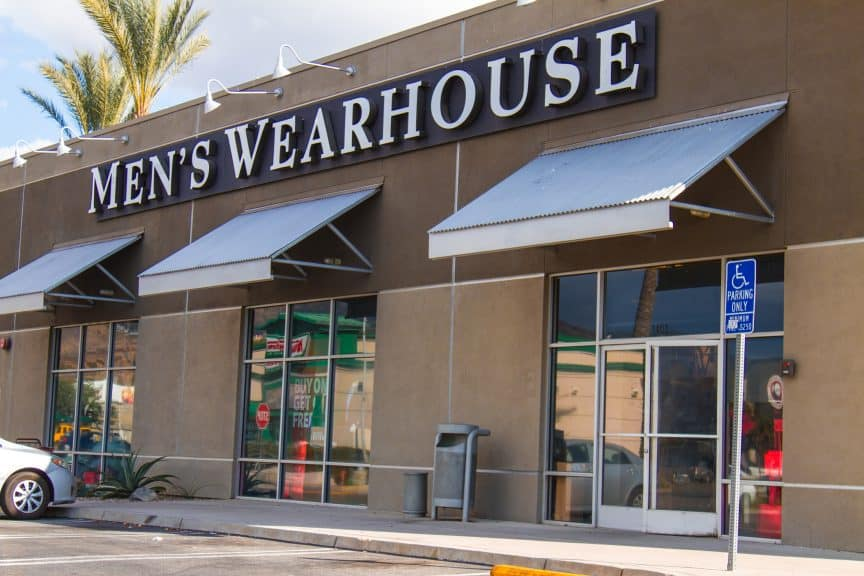 Men's Wearhouse,
