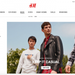 H&M UNVEILS NEW E-COMMERCE SITE AND MOBILE APP IN THE U.S.
